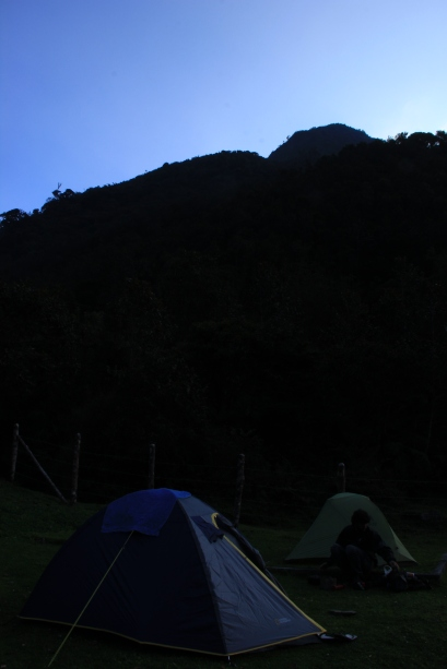 Campsite at Estrellas de Agua