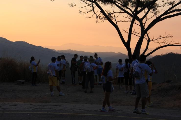 Dawn over Maracay, Caminata San Sebastian.