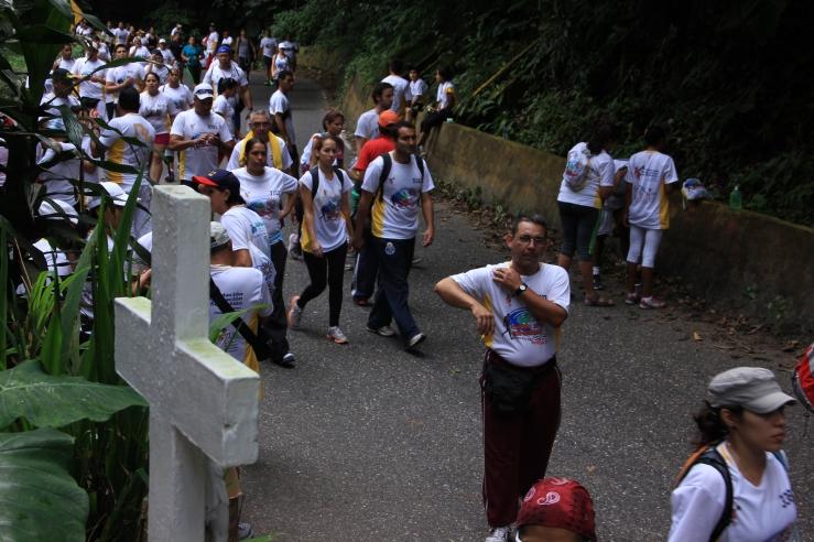 Caminata San Sebastian.